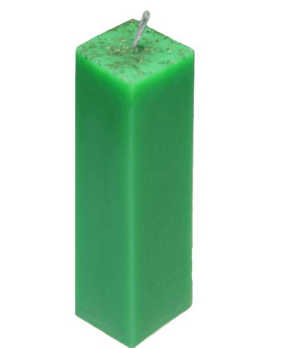 Зелёная свеча Totem