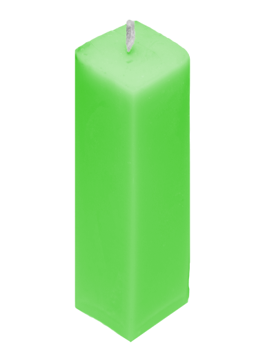 Салатовая свеча Totem